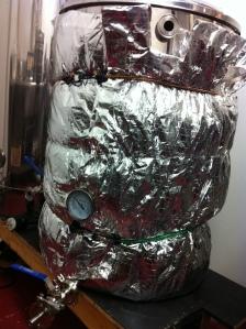 insulated mash tun